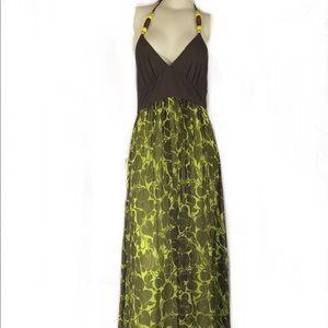 Milly of New York Maxi Halter Dress